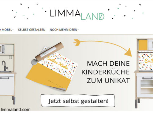 Limmaland: using online print to personalize children's furniture