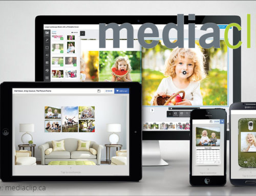 Mediaclip: print personalization using white-label software