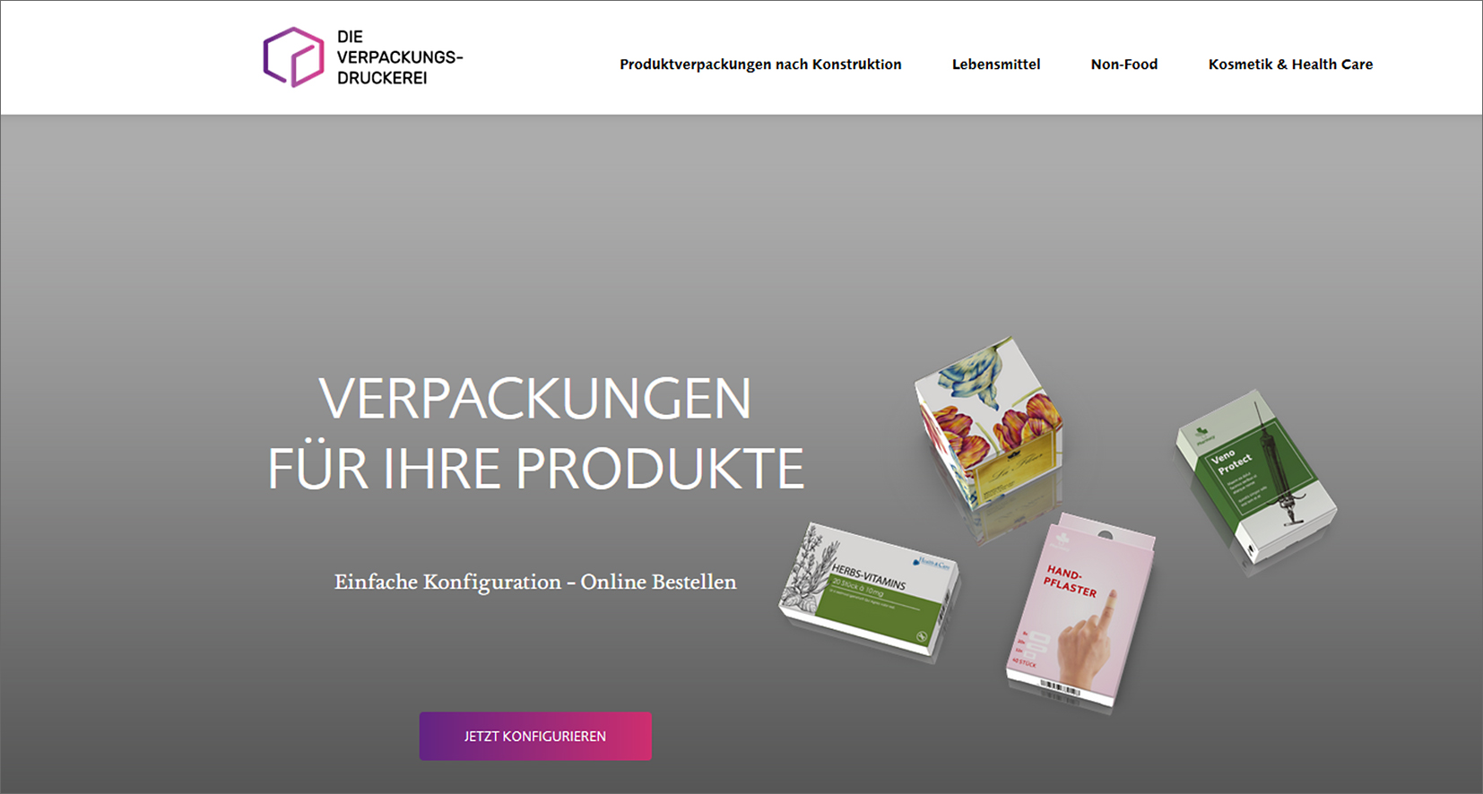 Web-to-packaging: Offsetdruckerei Schwarzach launches three professional stores