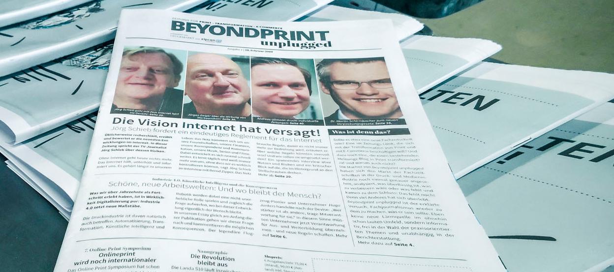 Beyondprint unplugged: More than Print