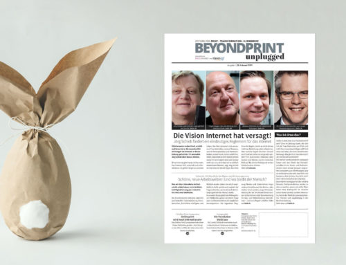 Happy Easter with beyondprint unplugged