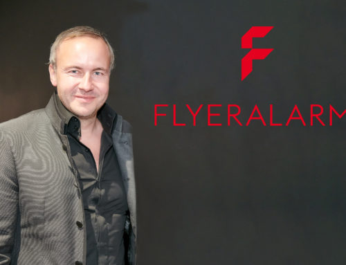 Flyeralarm: Start-up Spirit – Interview with company founder, Thorsten Fischer