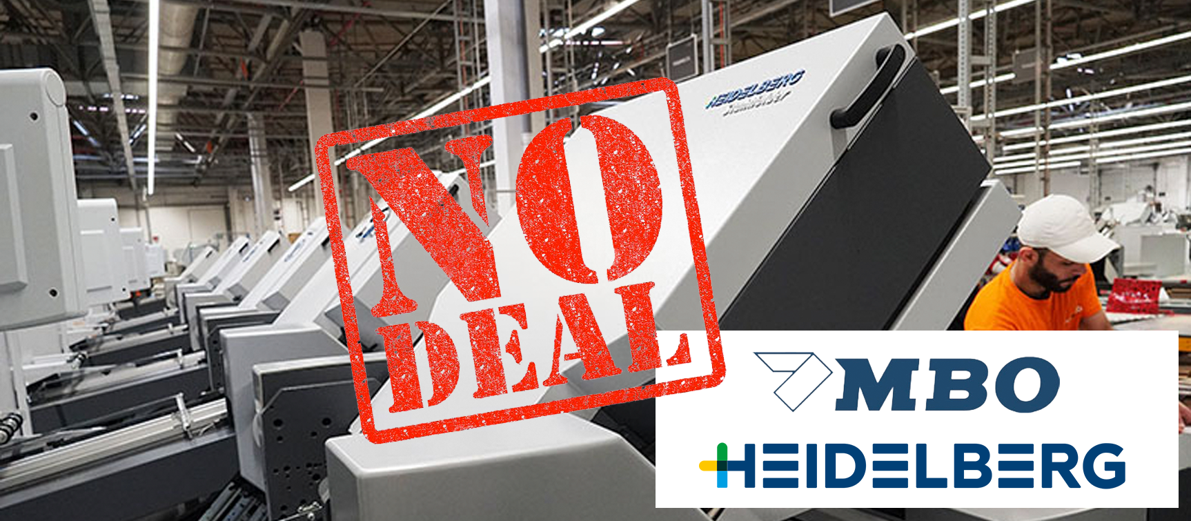 Takeover: No Deal for MBO and Heidelberg
