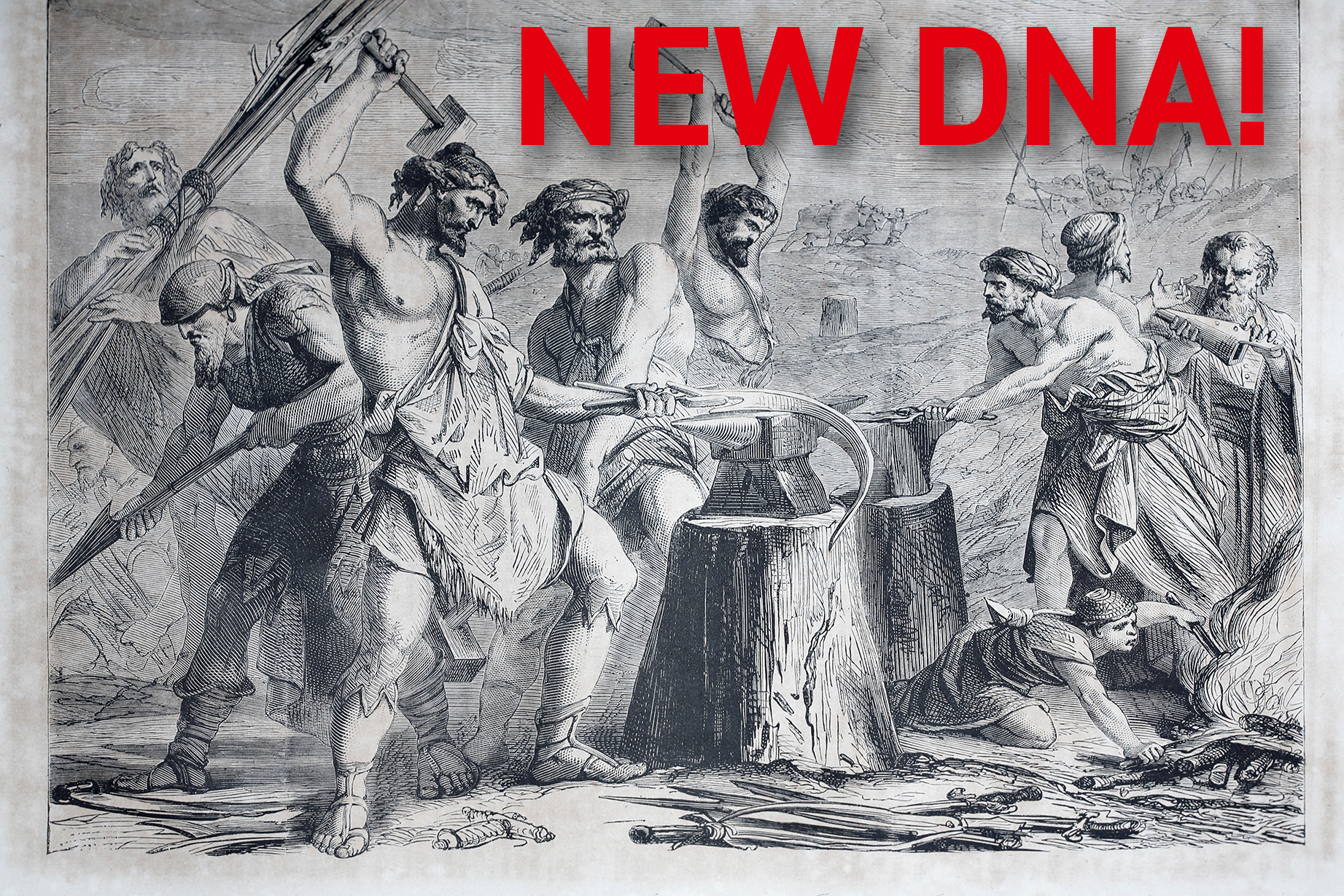 New DNA for Print: Swords to plowshares