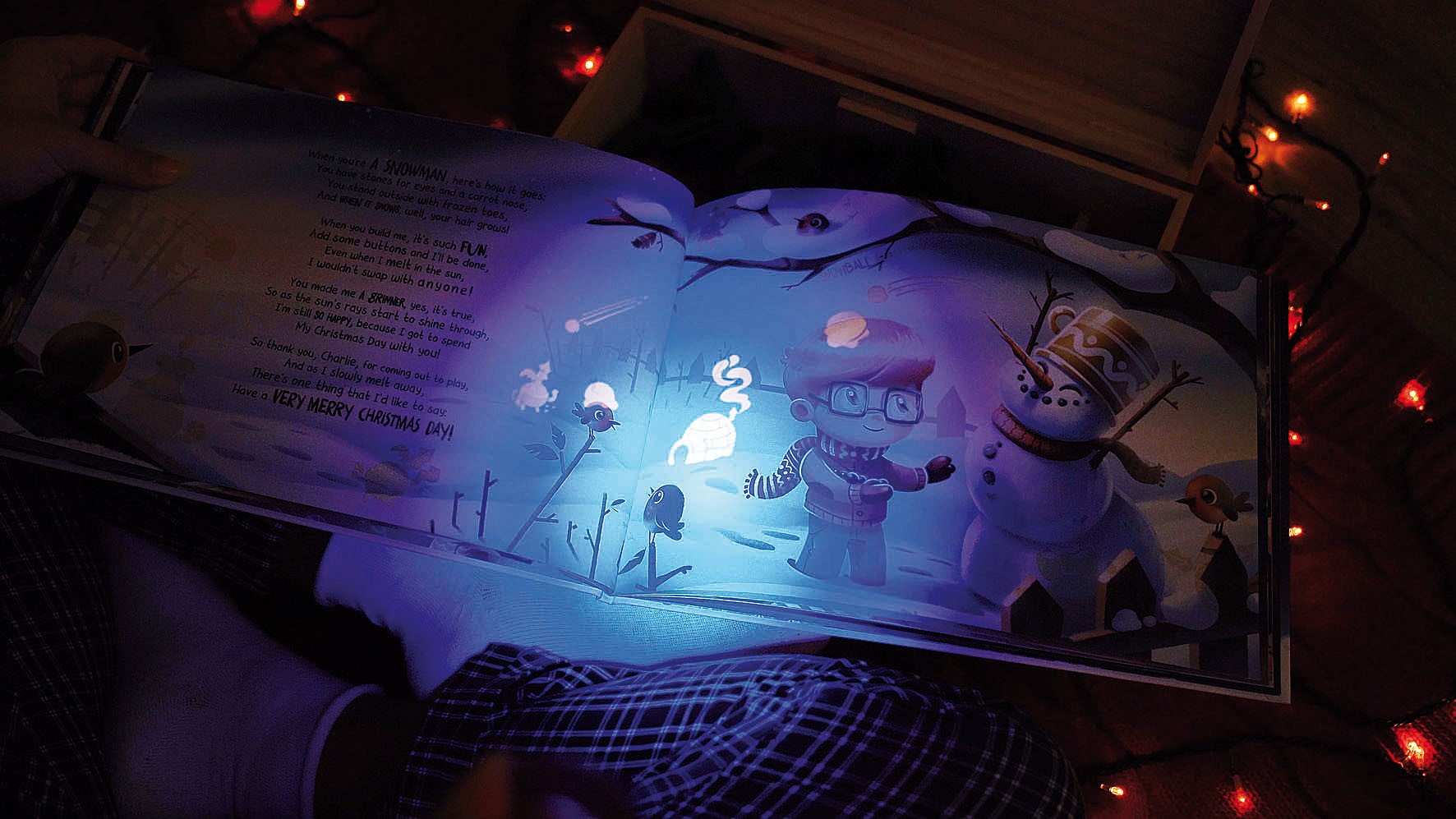 Glow in the dark: Personalized children's books