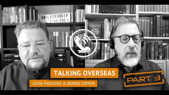 TALKING OVERSEAS: UPDATE WITH PARSONS AND ZIPPER