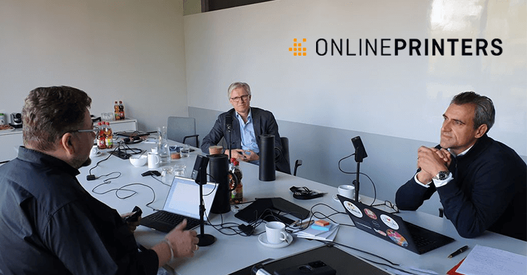 Podcast: Why diedruckerei.de is now called onlineprinters.de