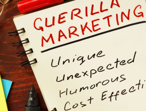 Guerilla marketing: an inexpensive marketing tool for the online print industry?