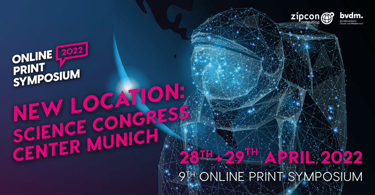 Online Print Symposium 2022 in a brand new location